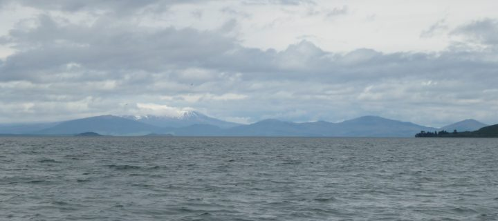 Lake Taupo and its caldera