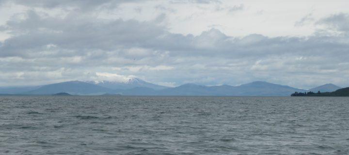 Lake Taupo and its caldera