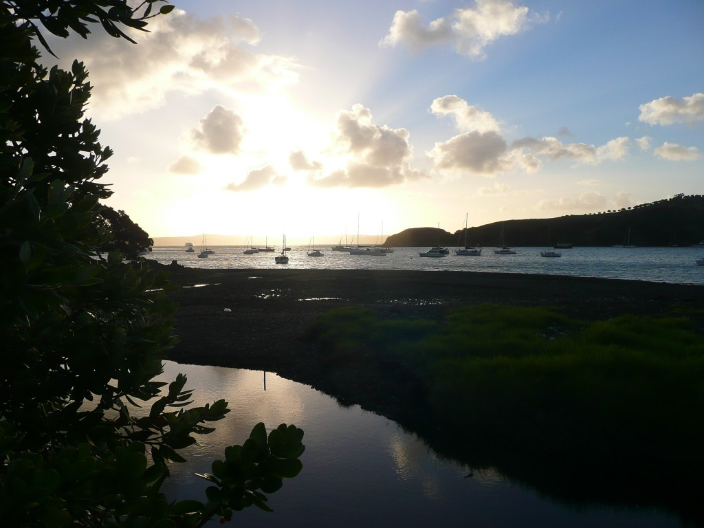 Waiheke Island_soleil