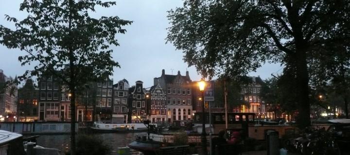 Dans les canaux d'Amsterdam…