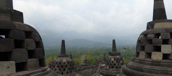 Balade dans les temples de Borobudur et Prembanan