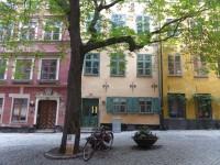 Dans les ruelles de Stockholm