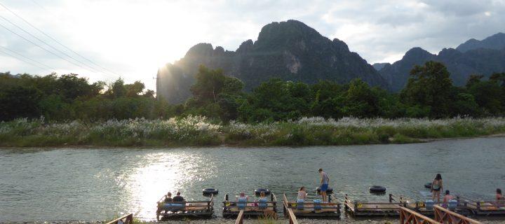 Tubing à Vang Vieng