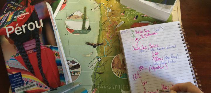 Comment se préparer pour six mois de voyage en Amérique latine?