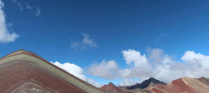 La Rainbow Mountain et la Red Valley