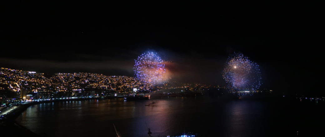 Le Nouvel an à Valparaiso